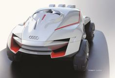 Audi RALLY KING | The Ultimate Rally Experience by Tony Chen, via Behance