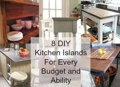 diy island for kitchen - Google Search