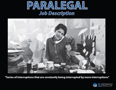 Job description of the professional paralegal