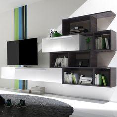 Klare Linien Und Ein Hervorragendes #Design Sind Die Wesentlichen Merkmale  Der Wohnwand Serie LINE