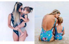 Φέτος το καλοκαίρι φορέστε ίδιο μαγιό στη παραλία μαμά και κόρη!