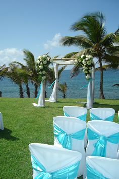 Stunning Cliff View Location Inside Our National Park In The North Of Island St Lucia Wedding By Awesome Caribbean Weddings