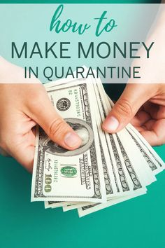 Stuck at home right now? Here's how to make money from home to earn extra cash fast! Earn More Money, Ways To Save Money, How To Get Money, Make Money From Home, Make Money Online, Money Tips, Extra Money, Extra Cash, Starting Your Own Business