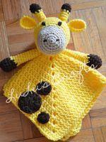 Crochet Amigurumi Ideas Ravelry: Giraffe Lovey pattern by Kelsey Bieker - Cute Crochet, Crochet Crafts, Crochet Dolls, Crochet Projects, Knit Crochet, Simple Crochet, Diy Crafts, Crochet Security Blanket, Baby Blanket Crochet