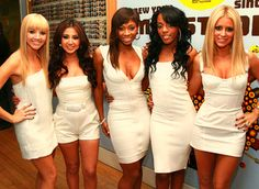 "Danity Kane.  Making the Band 3 winners. Their songs you could just want to dance to. Amazing  music. If you watched the show you would know how hard they worked. There will be no other girl group like them. Fav Song: ""Poetry"""