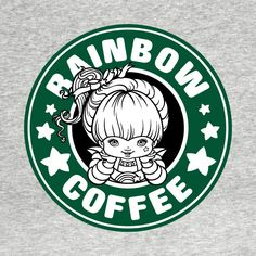 Check out this awesome 'Rainbow+Coffee' design on @TeePublic!