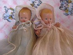 Pair of Nancy Ann Storybook Bisque Babies (item #1271972) #TStoltzfus #dollshopsunited