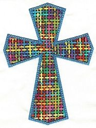 Crosses Applique #3 SWAK Pack - 2 Sizes! | Religious | Machine Embroidery Designs | SWAKembroidery.com Designs by Juju
