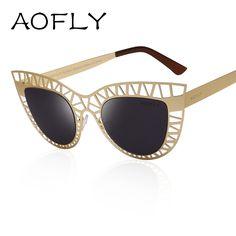 ... Cat Eye Sunglasses Female Hollow out Mirror Sun glasses for Women oculos  de sol,High Quality sunglasses uv400,China glasses prescription Suppliers,  ... 3197954132