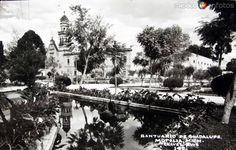 Fotos de Morelia, Michoacán, México: SANTUARIO GUADALUPE Hacia 1945
