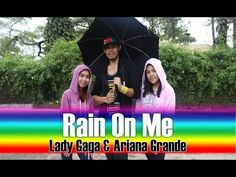 RAIN ON ME by Lady Gaga & Ariana Grande   Zumba®   Dance Fitness - YouTube Cardio Dance, Zumba, Dance Fitness, Lady Gaga, Ariana Grande, Rain, Songs, Youtube, Rain Fall