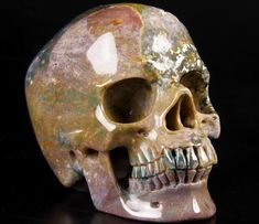 You are looking at an Indian agate skull. The skull is inches long from front to back. Indian Agate, Skulls, Carving, Crystals, Art, Art Background, Wood Carvings, Kunst, Sculptures