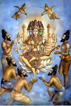 Painting by great Mysore painter Sri Shilpi Siddhalinga Swami - i think it is Lord Shiva Mysore Painting, Tanjore Painting, Indian Gods, Indian Art, Lord Murugan, Lord Shiva Painting, Nataraja, Durga Goddess, Durga Maa