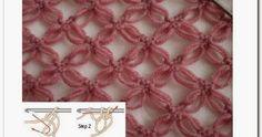 Bom domingo fiorellini, tudo bem com vocês a querida Fê Dutra do blog casa da dona santa me pediu um post sobre esse lindo ponto de crochê... Simply Crochet, Needle And Thread, Hair Pins, Knots, Shawl, Crochet Necklace, Stitch, Pattern, Crafts