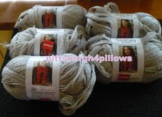 5  Sashay Sparkle  Red Heart  Boutique  by pittsburgh4pillows