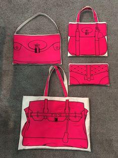 Silver Tone Pink Gem Purse Bag Hook Holder Hanger Great Favor Lot 10