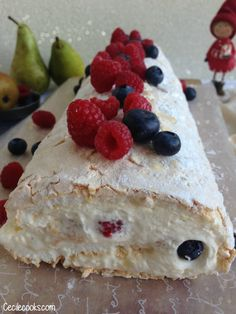 Dessert Ig Bas, Meringue, Cooking, Sweet Stuff, Cooking Food, Christmas Pavlova, Pavlova Recipe, Thermomix, Merengue