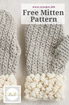 Free Adult Mitten Pattern – Easy Crochet Mittens by GoldenStrandStudi… / croch… – Knitting with Chopsticks Crochet Mittens Free Pattern, Diy Crochet Patterns, Diy Crochet Projects, Crochet Gloves, Crochet Scarves, Crochet Designs, Crochet Crafts, Knitting Patterns, Crochet Ideas