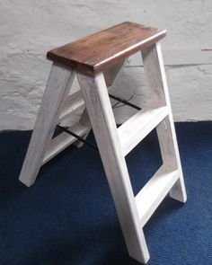 Reclaimed Wood Shabby Chic Steps. Perfect!