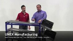 "#MaterialHandling #FlowCell: How your warehouse can achieve ultimate packability. Check out our video mini-series ""Would You Like Fries with That"" featuring Brian Neuwirth from UNEX Manufacturing and Joshua Smith. http://www.wprpwholesalepalletrack.com"
