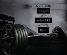 Quitters Never Win Winners Never Quit wall decal. *****Store Policies****** **Shipping and Payments** -Domestic Shipping Items are shipped via USPS First Class Mail. Delivery usually takes 2-5 days on