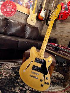 Fender Starcaster Modern Player Natural
