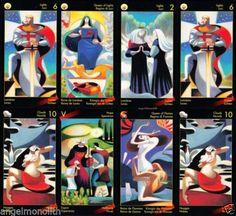 Original Dante Tarot Kartenlegen Karten Göttliche Komödie   eBay