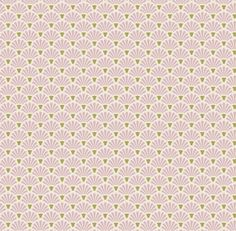 Tilda Apple Bloom- Flower Fan Pink Fabric Fat Quarter | sewandso