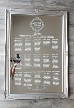 55 Ideas Table Seating Chart Wedding Mirror For 2019 Mirror Seating Chart, Table Seating Chart, Wedding Table Seating, A Table, Wedding Reception, Wedding Tables, Reception Ideas, The Plan, How To Plan