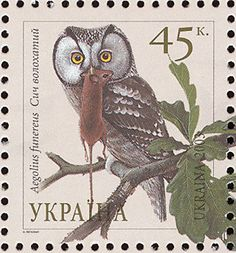 Boreal Owl stamps - mainly images - gallery format