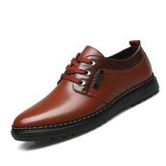 Fashion Casual Round Toe PU Leather Antiskid Shoes Business Men   Price    19.75  amp de9df1f702bb