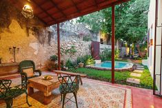 MERIDA, MEXICO. Casa Flor de Mayo is lovingly restored with colonial period details galore; the home is rich with history and charm. Located in the heart of La Ermita, is well suited for both short and long term stays. /From $131 per night/