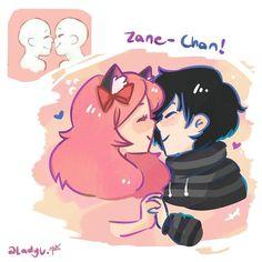 """1,066 Likes, 23 Comments - @LadyU. (@ladyuniquecorn) on Instagram: """"Zane-Chan is one of my opt list (*≧ω≦*) ♡♡!!! . I'll drawing more ships on the future x3. Maybe i…"""""""