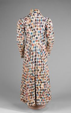 Man's dressing gown (image 4) | British | 1825 | cotton | Brooklyn Museum Costume Collection at The Metropolitan Museum of Art | Accession Number: 2009.300.999
