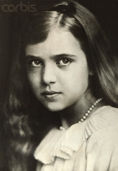 12-year-old Princess Ingrid of Sweden, daughter of Crown Prince Gustavus Adolphus and the late Princess Margaret