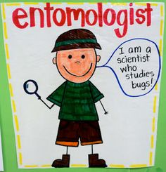Bug Unit-make through the year for different ologists...or ologies.  Class big book