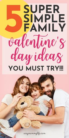 Here are some fun family Valentine's Day ideas to try this year. This post includes everything from scavenger hunts to minute to win it game ideas and more. Family Valentines Day, Valentines Day Activities, Gentle Parenting, Parenting Advice, Family Bonding, Family Family, Family Games, Family Activities, All About Mom