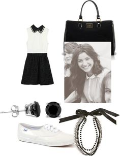 """""""Eleanor Calder inspired outfit:)"""" by emmicarlini ❤ liked on Polyvore"""