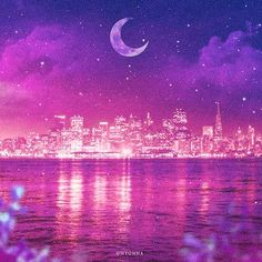 The song of the moon Scenery Wallpaper, Wallpaper Backgrounds, Aesthetic Images, Aesthetic Wallpapers, Futuristic Interior, Tattoo Photography, Laptop Wallpaper, Landscape Pictures, Cute Drawings
