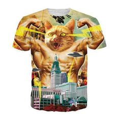 e87b83ddb055 2017 Newest printed creative t shirt 3d men s t-shirt summer novelty 3D  feminina psychedelic tee shirts