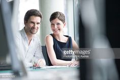 Stock Photo : Business partners, portrait
