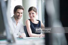Stock Photo : Business partners, portrait