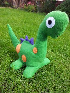 Fleece Handmade Soft Plush Toy Dinosaur- Ideal for Children £10.00