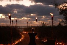 This is amazing!!!! Lighted beach access at the Sunset Beach House in Treasure Island, FL
