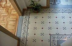 The Mini Succulent - 100 seeds - Painted floor tiles - - Vertical Vegetable Gardens, Vertical Garden Wall, Cool Teen Bedrooms, Painting Tile Floors, Pallets Garden, Garden Living, Tiles, Succulents, Flooring