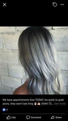 Blue Grey Hair, Long Hair Styles, Beauty, Blue Gray Hair, Long Hairstyle, Long Haircuts, Long Hair Cuts, Beauty Illustration, Long Hairstyles