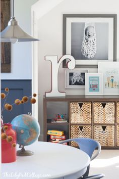 Playroom Decor Changes Part 2 Colorful Playroom Decor featuring white walls and lots of colorful accents. Loft Playroom, Playroom Organization, Playroom Design, Playroom Decor, Playroom Ideas, Toddler Playroom, Bedroom Decor, Bedroom Ideas, Toddler Bed