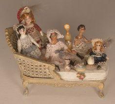 Miniaturas de Almudena González. Nice dolls for a dollhouse doll    miniatures I like   Pinterest   Dollhouse Dolls, Dollhouses and Dolls