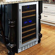 N'FINITY PRO HDX 29 Dual Zone Wine Cellar (Stainless Steel Door)