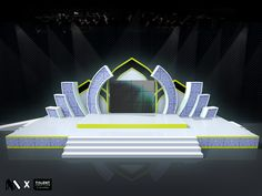Stage design for Maolid Fair @ Krabi